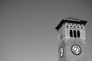 Tower - Black and White