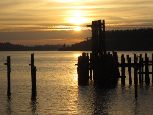 Sunset at Titlow Beach
